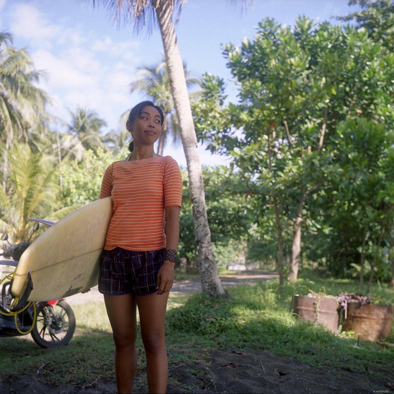 Surfeurs de Batu Karas, Java ouest