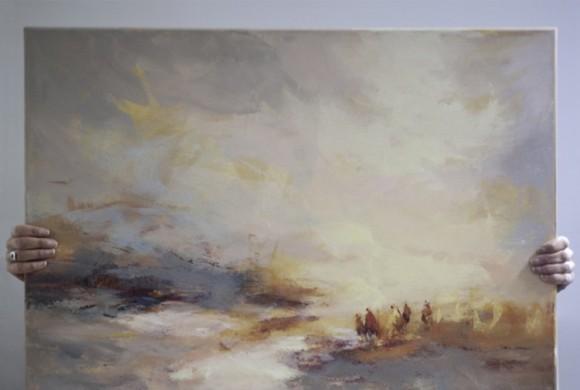 Affiche d'expo de peinture